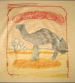 Blue Line Camel 1978 Limited Edition Print by Larry Rivers