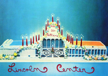 Lincoln Center Birthday 1979 Limited Edition Print by Larry Rivers
