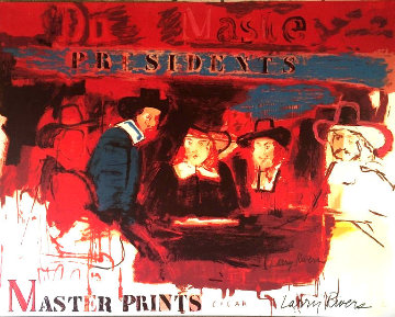 Dutch Masters Limited Edition Print - Larry Rivers
