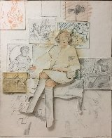 Drawn From the Collection 1984 (Bas Relief) Limited Edition Print by Larry Rivers - 4