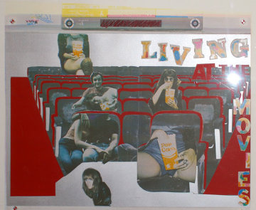 Living at the Movies 1974 Limited Edition Print by Larry Rivers