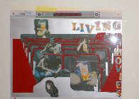 Living at the Movies 1974 Limited Edition Print by Larry Rivers - 2