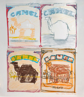 Four Camels AP 1978 Limited Edition Print by Larry Rivers