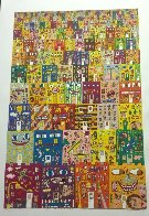 Lost in a Concrete Jungle 3-D 1990 Limited Edition Print by James Rizzi - 2