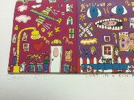 Lost in a Concrete Jungle 3-D 1990 Limited Edition Print by James Rizzi - 3