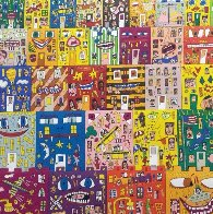 Lost in a Concrete Jungle 3-D 1990 Limited Edition Print by James Rizzi - 0