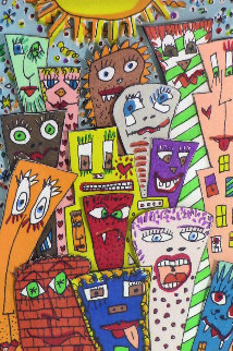 Attitudes AP 1989 3-D Limited Edition Print - James Rizzi