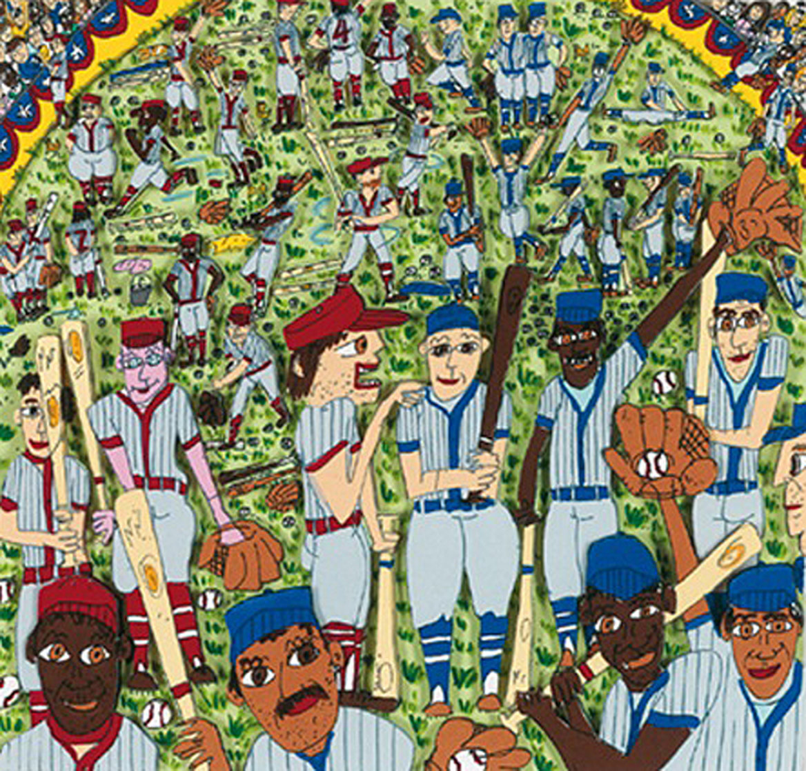 It Ain't Over Till It's Over 3-D 1992 Limited Edition Print by James Rizzi