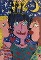 It's So Nice to Be Loved 1980 3-D Limited Edition Print - James Rizzi
