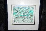 Lets All Meet At Daddy's Club (Tennis) 3-D 1995 Limited Edition Print by James Rizzi - 4