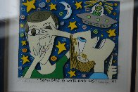 Someone is Watching Us 3-D 1997 Limited Edition Print by James Rizzi - 1