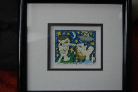 Someone is Watching Us 3-D 1997 Limited Edition Print by James Rizzi - 2