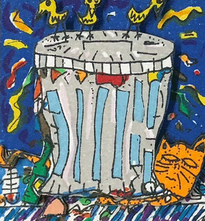 Trash 3-D 1987 Limited Edition Print - James Rizzi