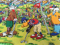 18th Hole 3-D 1993 Limited Edition Print - James Rizzi