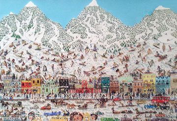 Its the Altitude 3-D 1989 Limited Edition Print - James Rizzi