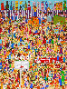 A Lot of Fun For City Kids 3-D 1990 Limited Edition Print by James Rizzi - 0