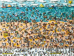 When Living is Easy 3-D 1987 Limited Edition Print - James Rizzi