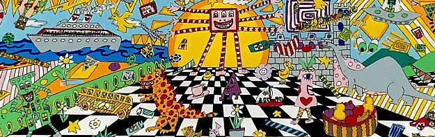 Here Comes the Sun 1995 3-D by James Rizzi