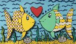 Love At First Sight 3-D 2001 Limited Edition Print - James Rizzi