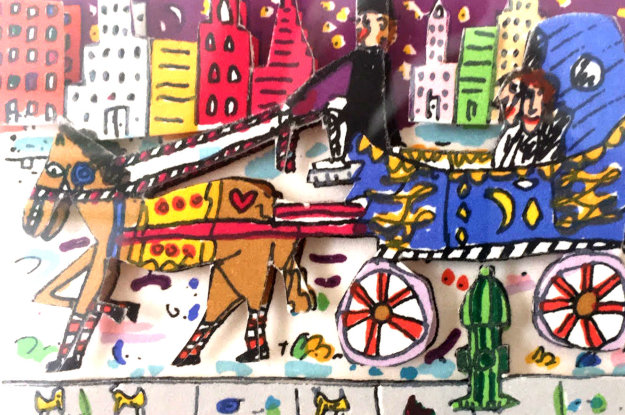 Love and Marriage 3-D 1990 Limited Edition Print by James Rizzi