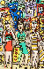 Girls Out Shopping 3-D Limited Edition Print by James Rizzi - 0