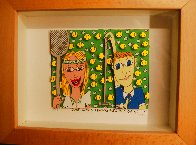 She Likes Tennis - He Likes Golf 1997 3-D Limited Edition Print by James Rizzi - 1