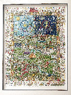 Village For the World 1996 3-D Limited Edition Print by James Rizzi - 2