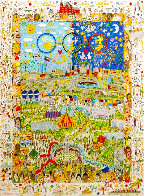 Village For the World 1996 3-D Limited Edition Print by James Rizzi - 0