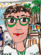 It's Me 3-D 1987 Self Portrait Limited Edition Print by James Rizzi - 0