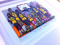 Basketball Team Photo 3-D 1998 Limited Edition Print by James Rizzi - 1