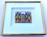 Basketball Team Photo 3-D 1998 Limited Edition Print by James Rizzi - 4