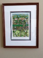 Strokes of Genius 3-D 1991 Golf Limited Edition Print by James Rizzi - 1