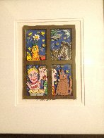 Outside Looking In 3-D 1990 Limited Edition Print by James Rizzi - 1