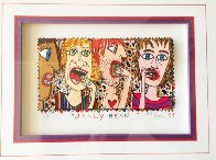 Jelly Bean 3-D Limited Edition Print by James Rizzi - 2