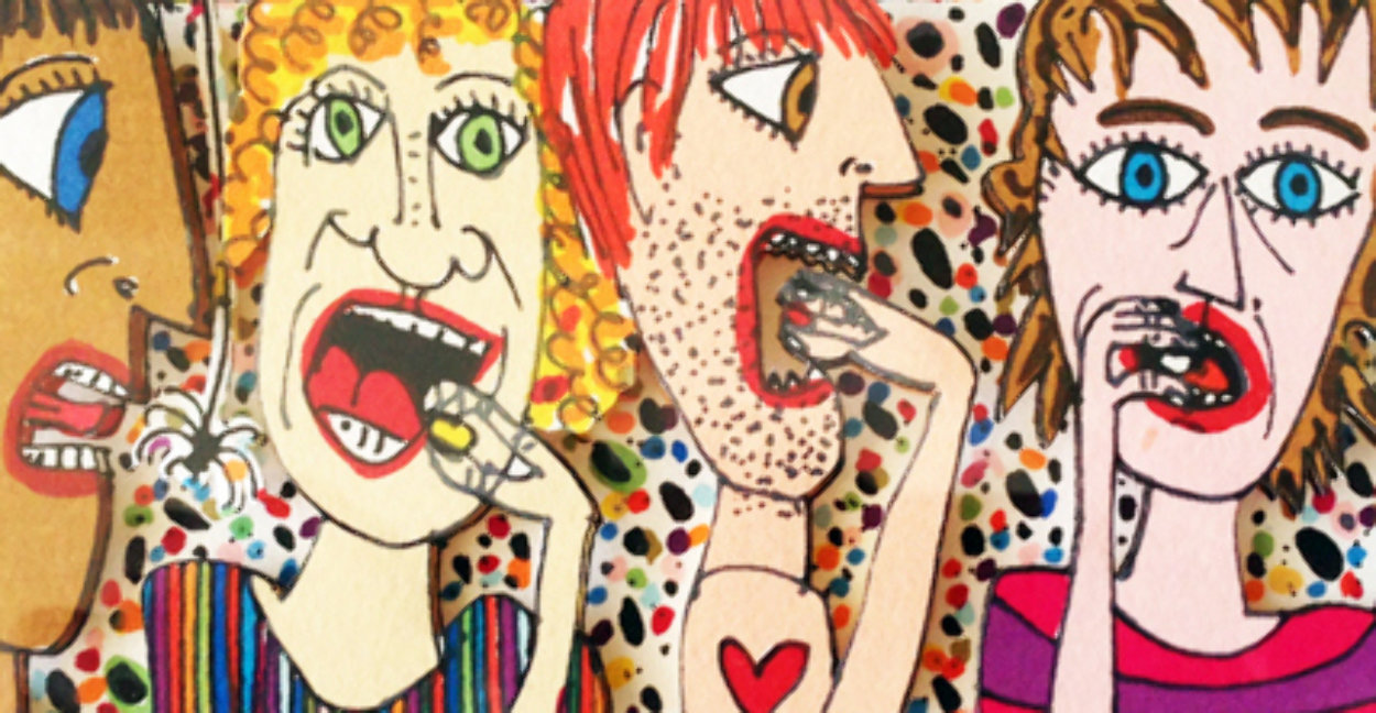 Jelly Bean 3-D Limited Edition Print by James Rizzi