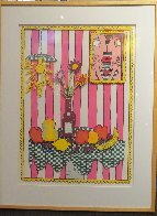Passion Fruit Pink 3-D Limited Edition Print by James Rizzi - 1