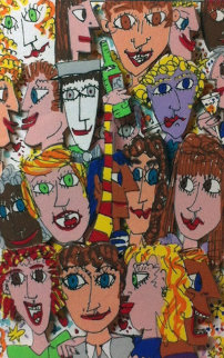 Partytime AP 1984 Limited Edition Print - James Rizzi