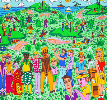 Different Strokes For Different Folks 1992 3-D  Limited Edition Print by James Rizzi