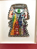 Big Brother TV Show 1989 3-D Limited Edition Print by James Rizzi - 1