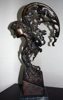 Gabriel Unique Bronze Sculpture Sculpture by Ron Jermyn