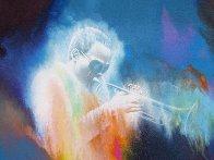 Miles Davis 2000 41x28 Original Painting by Robert Katona - 1