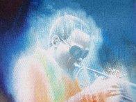 Miles Davis 2000 41x28 Original Painting by Robert Katona - 2