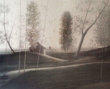 Landscape II 1980 Limited Edition Print - Robert Kipniss