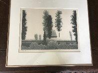 Untitled Landscape AP 1980 Limited Edition Print by Robert Kipniss - 2