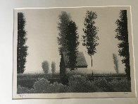 Untitled Landscape AP 1980 Limited Edition Print by Robert Kipniss - 7