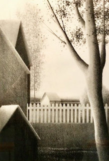 Backyard Summer Limited Edition Print - Robert Kipniss