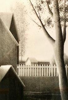 Backyard Summer Limited Edition Print by Robert Kipniss