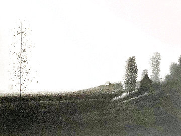 Shadowed Fields II AP 1979 Limited Edition Print - Robert Kipniss