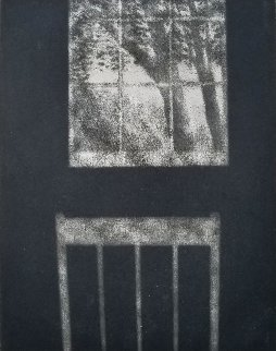 Landscape With Window and Chair 2000 Limited Edition Print - Robert Kipniss