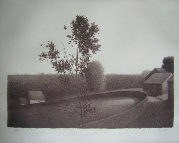Untitled Landscape 1971 Limited Edition Print - Robert Kipniss